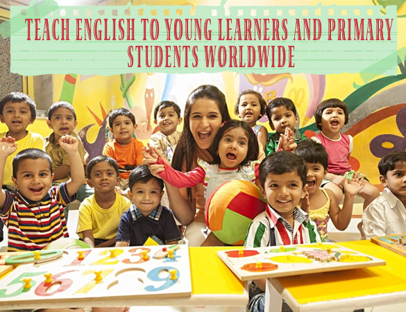 Teach English to young learners and primary students worldwide